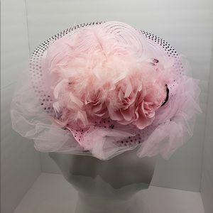 Pretty in pink Derby hat